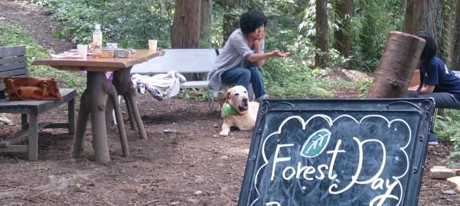 第3回 Forest day~森の日~はアニマルコミュニケーション