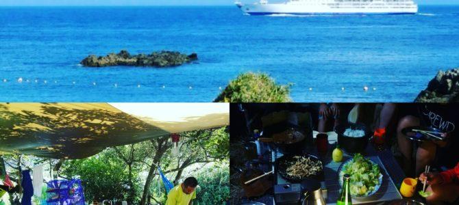 2017 島キャンプ スタート