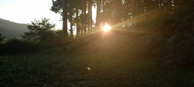 朝を決める~森の朝活講座~