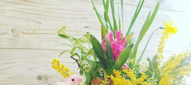 「春のフラワーセラピー」in秋川サロン