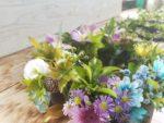 「虹色家族」の花冠