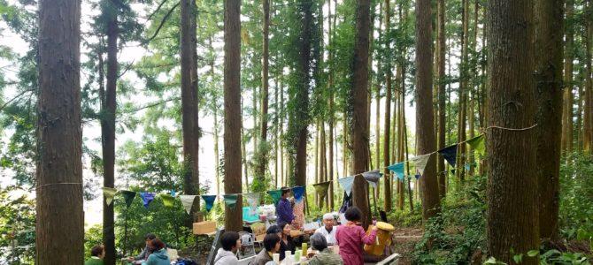 「森カフェ」大盛況でした!
