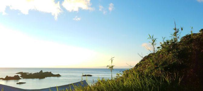 島キャンプの冒険②海への怖れ