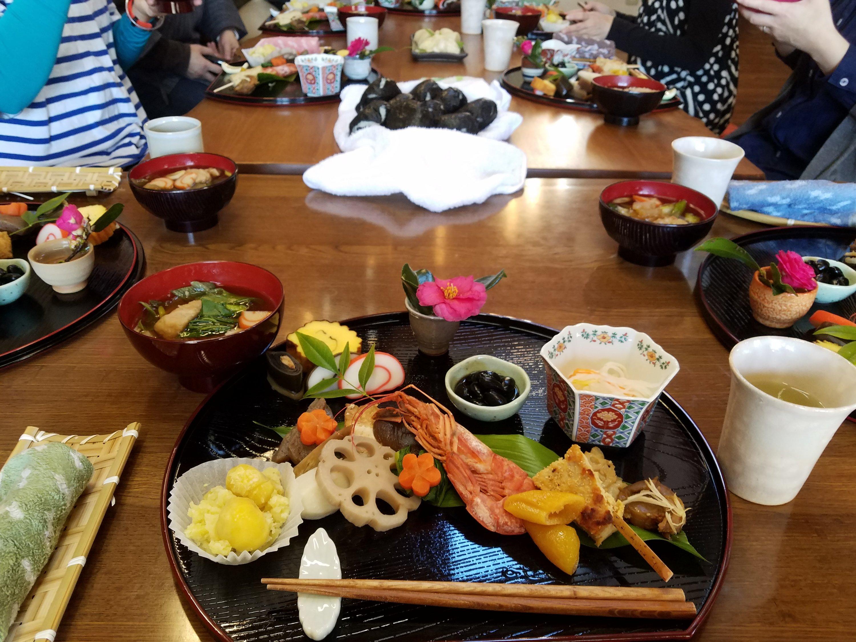 第25回 1/19 季節の食とお花コラボレッスン~新年のお膳~